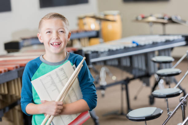 Online Percussion course for school bands kids and teens, Winnipeg